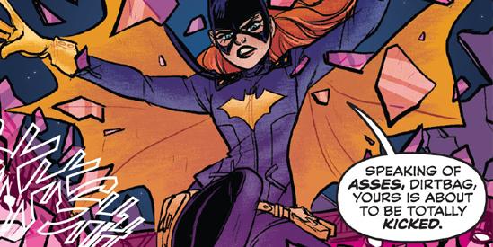 Batgirl #35 Stewart / Tarr DC